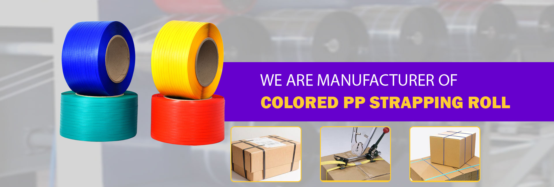 PP Strapping Roll Supplier,Strapping Roll Ahmedabad